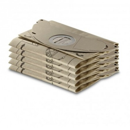 Popieriniai filtrų maišeliai SE 5001 5 vnt. Karcher