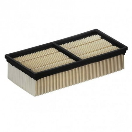 Gofruotas popierinis filtras NT 75/2 / NT65/2Tact2 Karcher