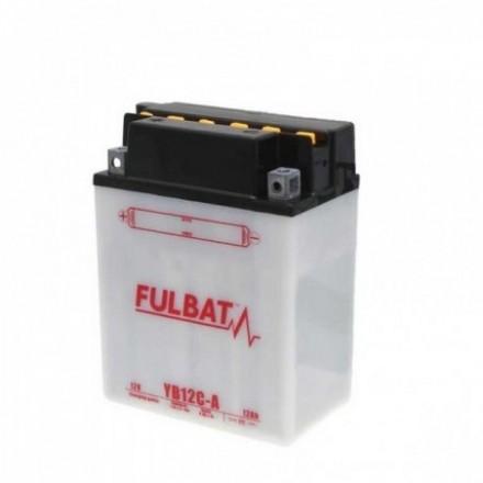 FULBAT  Akumuliatorius 12.6 Ah 165 A EN 12V YB12C-A