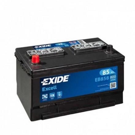 EXIDE Akumuliatorius 85 Ah 800 A EN 12V EB858