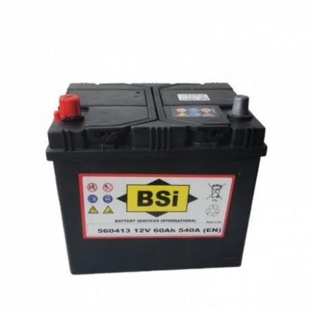 BSI Akumuliatorius 60 Ah 540 A EN 12V 560413