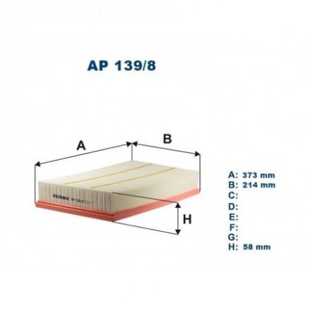 FILTRON Oro filtras AP139/8
