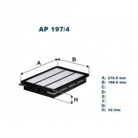 FILTRON Oro filtras AP197/4