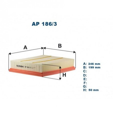 FILTRON Oro filtras AP186/3