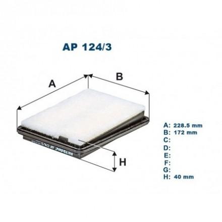 FILTRON Oro filtras AP124/3