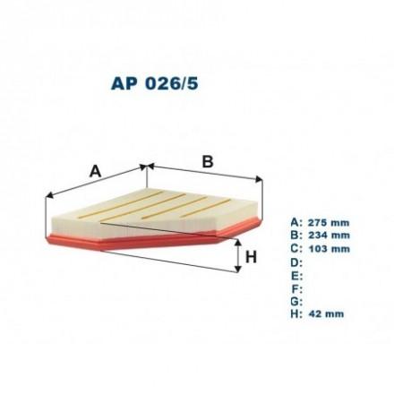 FILTRON Oro filtras AP026/5