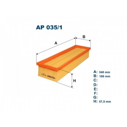 FILTRON Oro filtras AP035/1