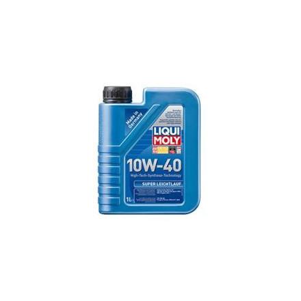 Pusiau sintetinė variklinė alyva SAE 10 W-40 - 1 l SUPER LEICHTLAUF