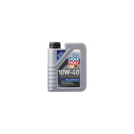 Pusiau sintetinė variklinė alyva su MoS2 SAE 10 W-40 –1 l  MOS2-LEICHTLAUF