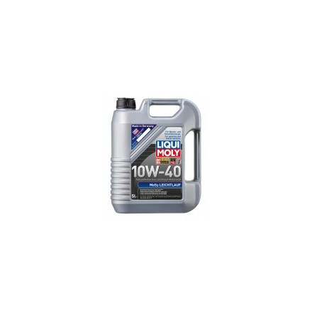 Pusiau sintetinė variklinė alyva su MoS2 SAE 10 W-40 – 5l MOS2-LEICHTLAUF