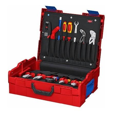 Elektriko įrankių komplektas L-BOXX 65 vnt. Knipex