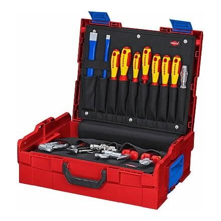 Santechninių įrankių komplektas L-BOXX 52vnt. Knipex