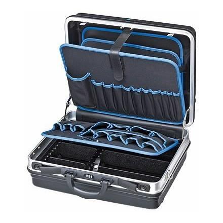 Įrankių lagaminas Basic su aliuminio rėmu Knipex