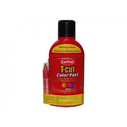 CARPLAN Polirolis T-CUT šviesiai raudonas 500ml CMW003