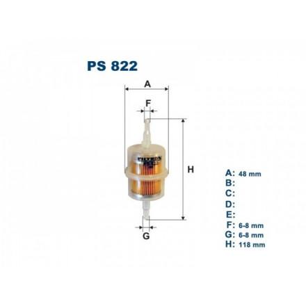 FILTRON Kuro filtriukas PS822