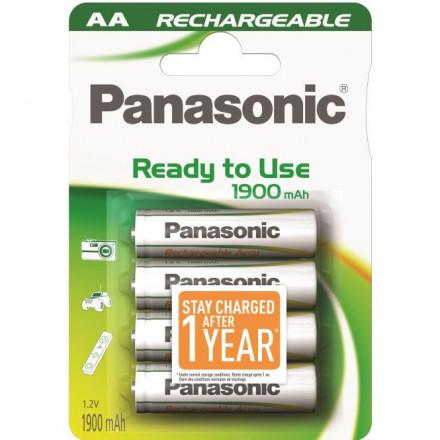 Akum. Panasonic Ready to Use HR6 1900 mAh (AA)