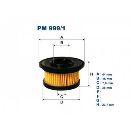 FILTRON Filtras dujinei įrangaiMarini PM999/1