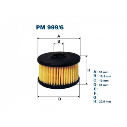 FILTRON Filtras dujinei įrangaiEMMA-GAS PM999/6