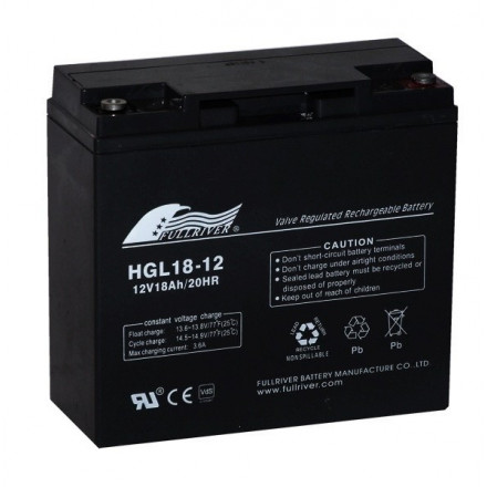 VRLA Akumuliatorius 18 Ah 12V HGL-12-18