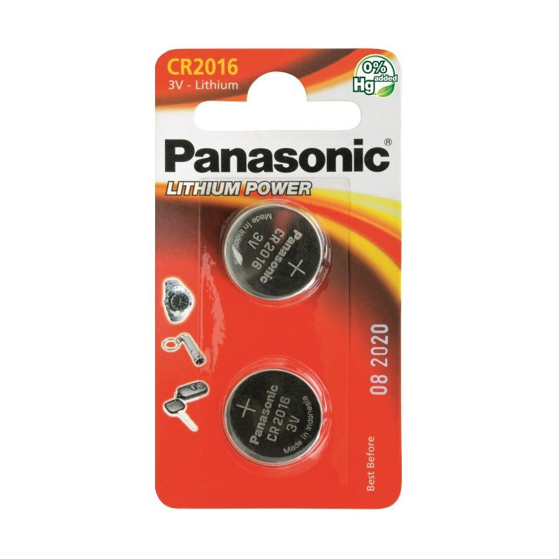 Panasonic Lithium CR2016