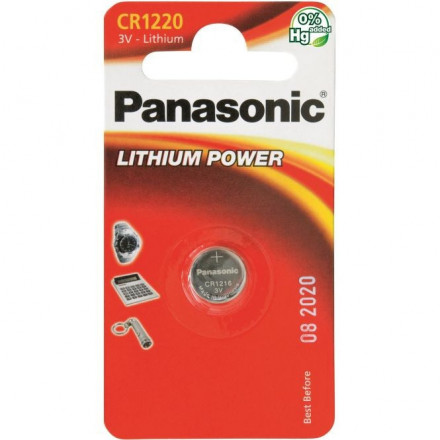 Panasonic Lithium CR1220