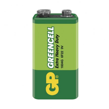 GP Greencell 6F22 (9 V)