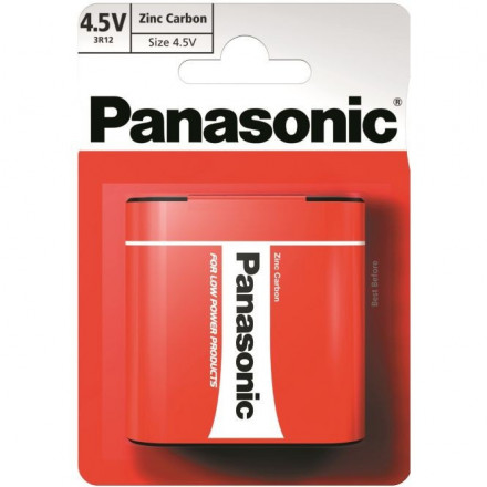 Panasonic Red Zinc 3R12