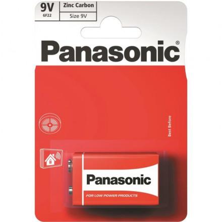 Panasonic Red Zinc 6F22 (9V)