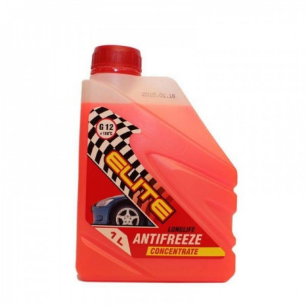 ELITE FORMULA Antifrizo koncentratas G12 raudonas 1l AAR01 KONC.