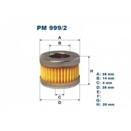 FILTRON Kuro filtras PM999/2