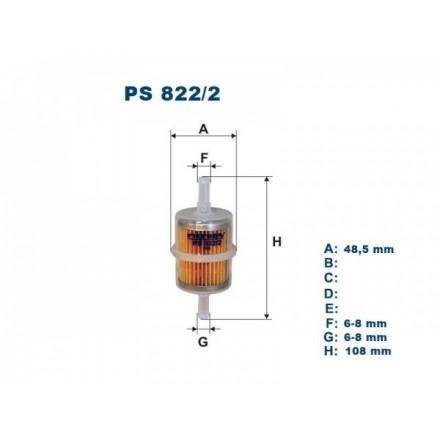FILTRON Kuro filtras PS822/2