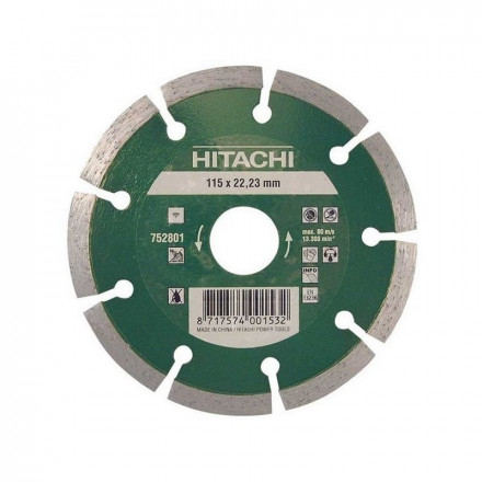 Deimantinis diskas HITACHI UNI Economy Ø125x22,2mm