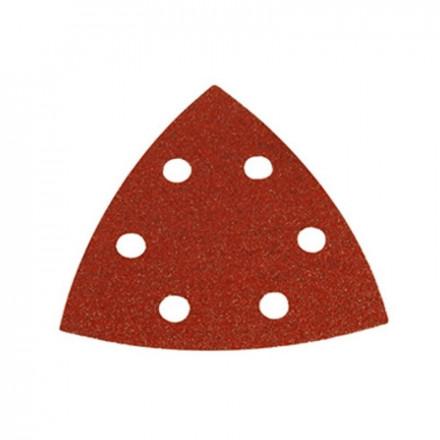 Trikampis šlif. popierius medienai 94mm (10vnt.) MAKITA K120