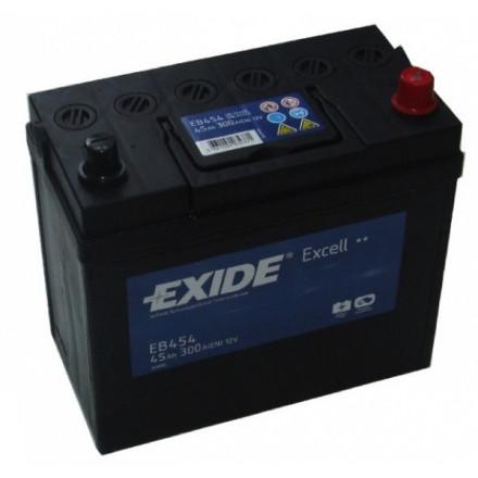 EXIDE Akumuliatorius 45 Ah 300 A EN 12V EB454