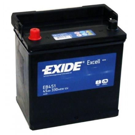 EXIDE Akumuliatorius 45 Ah 330 A EN 12V EB451