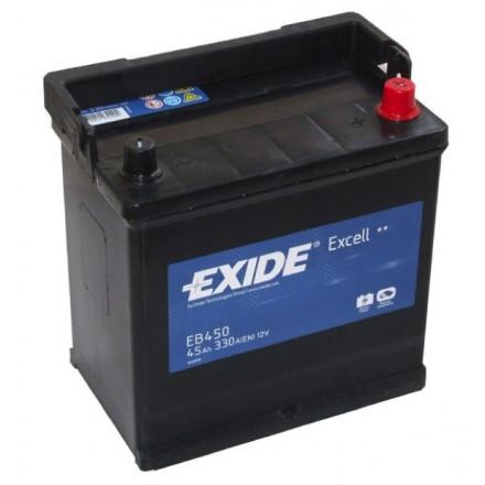 EXIDE Akumuliatorius 45 Ah 330 A EN 12V EB450