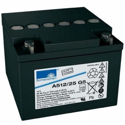 GNB (EXIDE) Akumuliatorius 25 Ah 200A Max. 12V A512/25G5