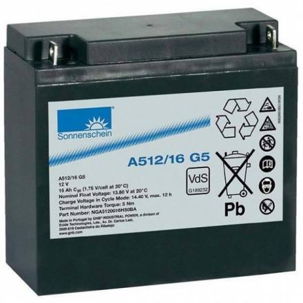 GNB (EXIDE) Akumuliatorius 16 Ah 200A Max. 12V A512/16G5