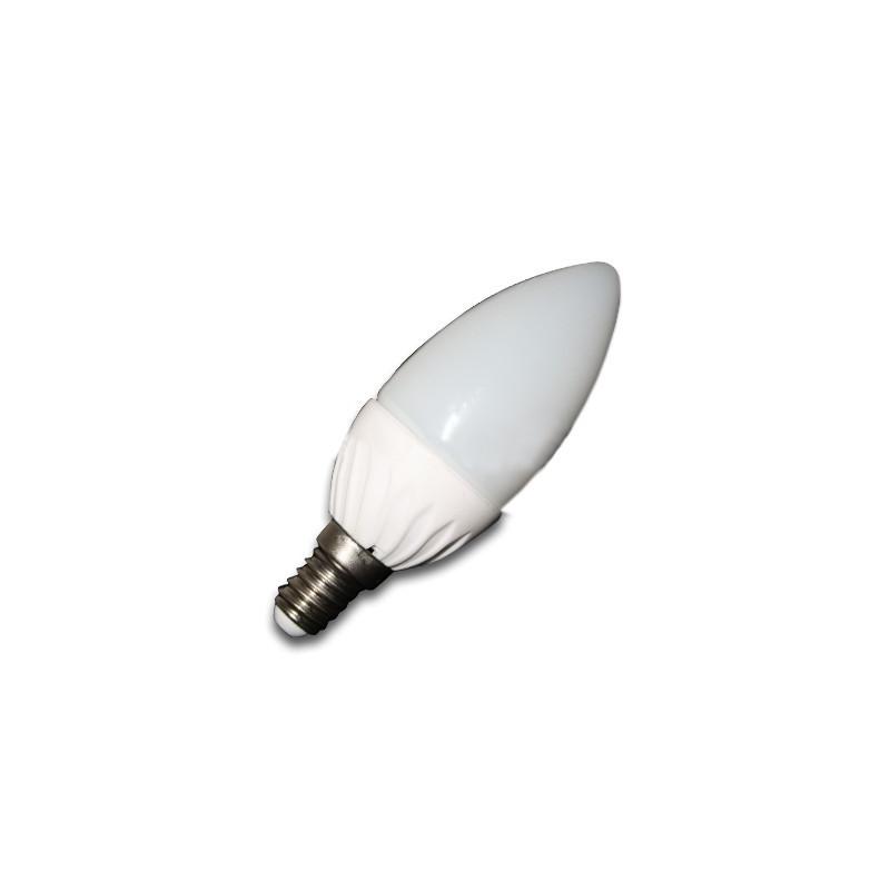 4W LED lemputė V-TAC E14 Žvakės formos (6000K) šaltai balta