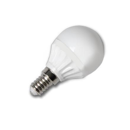 4W LED lemputė V-TAC 220V Е14 P45 SMD LED (6000K)šaltai balta