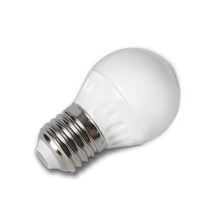 4W LED lemputė V-TAC 220V Е27 G45 SMD LED (2700K) šiltai balta