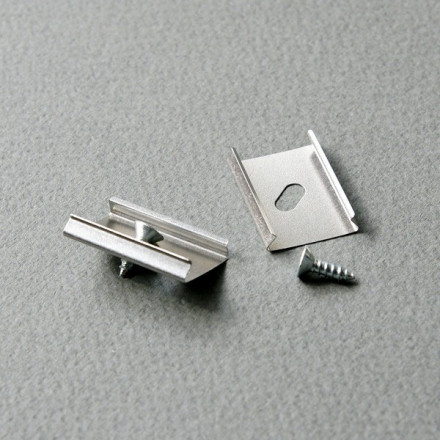 LED juostos profilio tvirtinimo elementas U