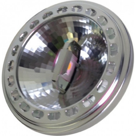 12W LED lemputė V-TAC AR111, 12V, Sharp LED, 40° kampas, šaltai balta