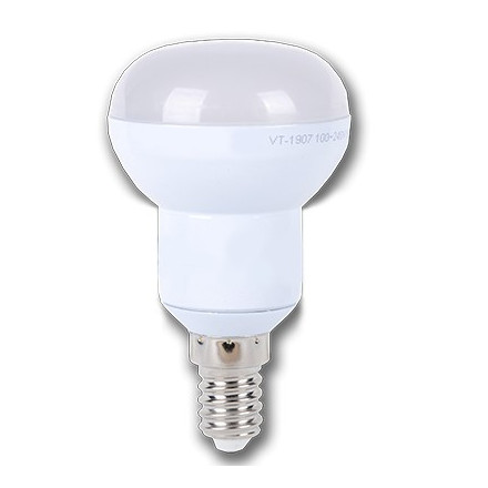 6W LED lemputė V-TAC E14 R50 EPISTAR SMD LED (6000K) šaltai balta