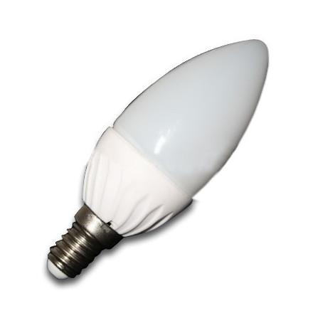 4W LED lemputė V-TAC E14 Žvakės formos (2700K)