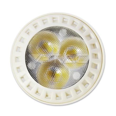 7W LED lemputė V-TAC GU10, termoplastikas, (3000K) šiltai balta