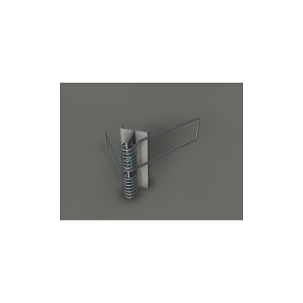 LED juostos profilio tvirtinimo spyruoklė X