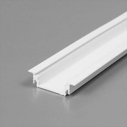 1m LED juostos profilio GROOVE10, baltas