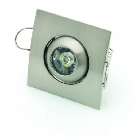 1W LED įmontuojamas...
