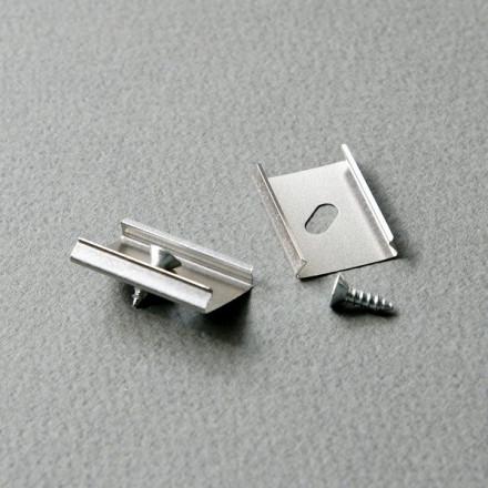 LED juostos profilio tvirtinimo elementas Y